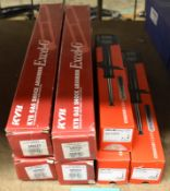 4x KYB Excel-G & 3x Drivemaster Shock Absorbers - please see pictures for examples of make