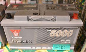 Yuasa YBX5019 12v 100Ah 900A Battery