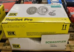 2x LUK Schaeffler Repset Pro Clutch Kits - please see pictures for examples of model numbers