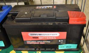 Drivemaster 017 88Ah EN 680 CCA Battery