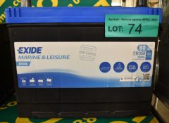 Exide ER350 Marine & Leisure Battery