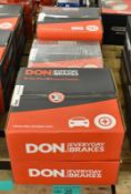 6x Don Brake Disc Sets - please see pictures for examples of make and model numbers