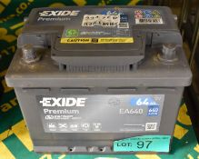 Exide Premium EA640 Battery