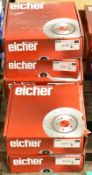 6x Eicher Brake Disc Sets - please see pictures for examples of make and model numbers