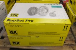 2x LUK Schaeffler Repset Pro Clutch Kits - please see pictures for examples of make and mo