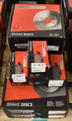 4x Drivemaster Brake Disc Sets & 4x Drivemaster Brake Pad Sets - please see pictures for examples