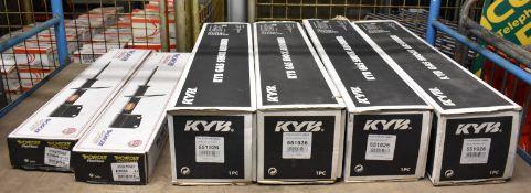 6x Shock Absorbers - 4x KYB 551926, 1x Monroe Reflex E2068 & 1x Monroe Reflex E2069