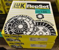 2x LUK Repset Clutch Kits - please see pictures for examples of make and model numbers