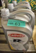 3x Carlube Triple R Fully Synthetic R-Tec 25 - 5W-30 Motor Oil - 5L