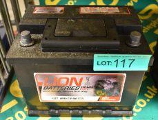 Lion 027 60Ah EN 480 CCA Batteries