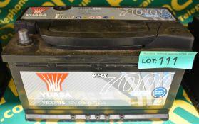Yuasa YBX7115 12v 80Ah 730A Battery