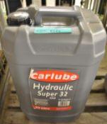 Carlube Hydraulic Super 32 Oil - 25L