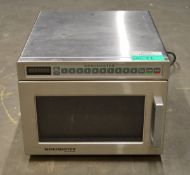 Menumaster DEC14E2 1400W Commercial Microwave, single phase electric