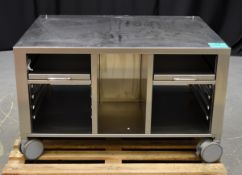 Rational 60.30.941 UG12L Mobile Stand for Vario Cooking Centre 112L