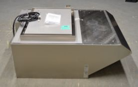 Rational Ultravent 60.72.326 Condensation Hood for model SCC 201, electric only