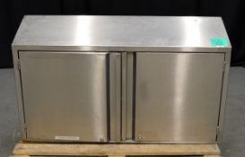 Stainless Steel Wall Mounted Cupboard