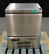 Williams H5UC R290 R1 Stainless Steel Undercounter Fridge, single phase electric