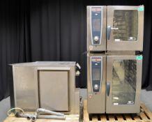 Rational Combi Stacker Oven- SCCWE61 6 grid combi oven and SCCWE101 10 grid combi oven