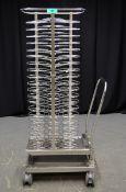 Rational Mobile Plate Rack
