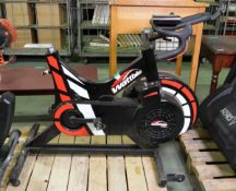 Wattbike Pro exercise bike - missing seat - with module but broken bracket - AS SPARES OR