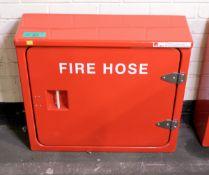 Red Composite Fire Hose Box L 710mm x W 220mm x H 630mm
