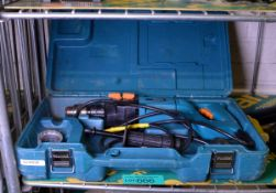 Makita 8406C Corded Electric Hammer Drill in Case 240v