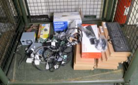 USB Keyboards, Brother DR-3100 Drum Unit, Planet Media Converter & Various IT Cables and a