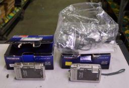2x Olympus u Tough-8010 Digital Cameras