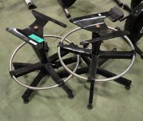 2x Chair bases