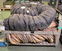 3x Flexible AIr Ducting Hose lengths
