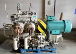 HPAC Air No1 Compressor And Electric Motor 440V END H