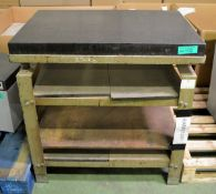Granite Surface Table With Stand - L970 x W630 x H920mm