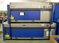 Poliwood Banco/Filtro Extraction Tables - L2750 x D1120 x H2000mm