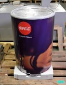 Vestfrost CC-48 Can Cooler Coca Cola Zero decal