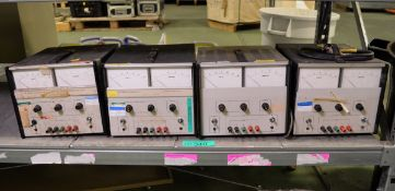 4x Farnell L30-5 stabilised power supplies - AS SPARES OR REPAIRS