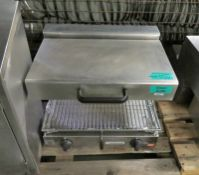 Ambach SE60/0 Stainless Steel Electric Grill - 240v 4kW