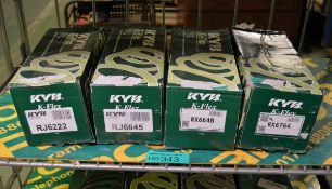 KYB K-Flex RJ6222 coil spring, KYB K-Flex RJ6645 coil spring, KYB K-Flex RX6648 coil sprin