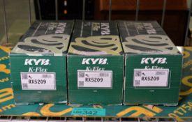 3x KYB K-Flex RX5209 coil springs