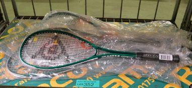 6x Dunlop Hire Squash Rackets