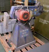 BM Belt Linisher Machine L 1200mm x W 430mm x H 1100mm