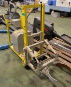 Powell Hydraulic Drum Lifters Swl - 65Kg - L700 x W600 x H1300mm