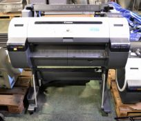 Canon GFE-IPF650 Printer With Stand L 1000mm x W 720mmx H 1000mm
