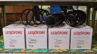 Lesjofors 4204293 Coil Spring, Lesjofors 4095125 Coil Spring, Lesjofors 4208456 Coil Sprin