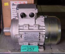 Mecaline 801-4 Three phase Asynchronous Motor - MECA 0.55K4P80B34IE1A