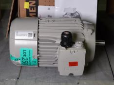 Siemens 1AV2082B Electric Motor - 0.55kW