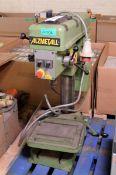 Alzmetall Bench Piller Drill - L370 x W800 x H1000mm