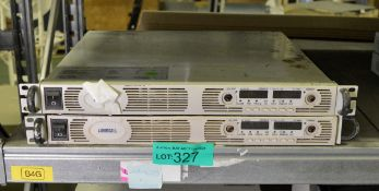 2x Lambda Genesys Gen 50-30 Programmable DC Power Supply Units - missing buttons