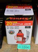Neilsen CT0011 20 Ton Bottle Jack