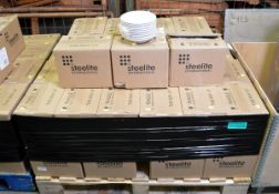 Lockhart 3-Fine Band Soup/Cereal Dish 18cm - 24 per Box - 47 boxes