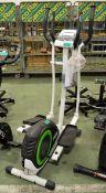 York Fitness cross trainer - cracked casing